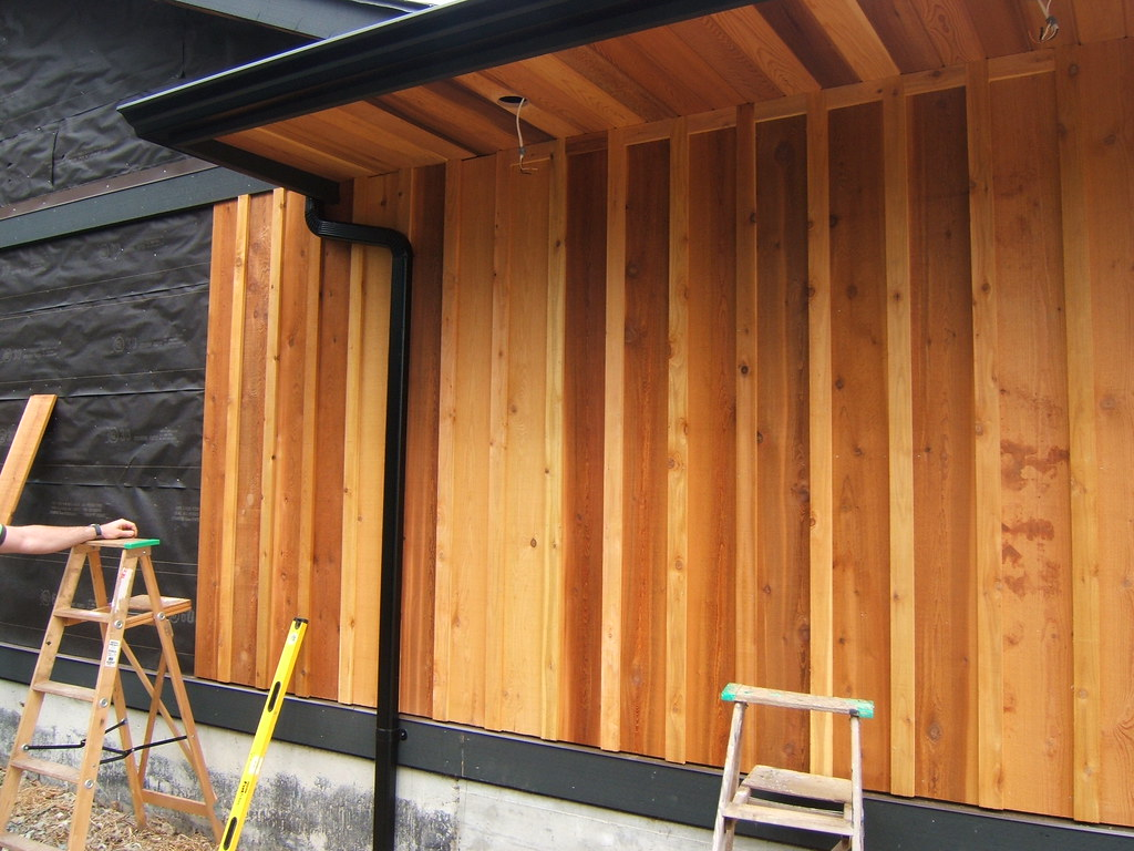 Hardi Plank Siding >> Board and batten siding 1x10 and 1x3 | bestratecedar ...