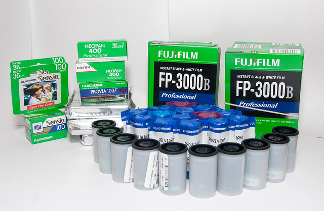 Lots of film