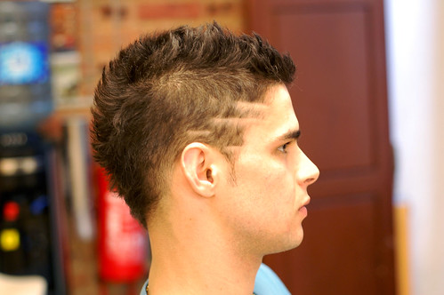 trendy haircuts for buzz cut stripes www pixshark images galleries 3614
