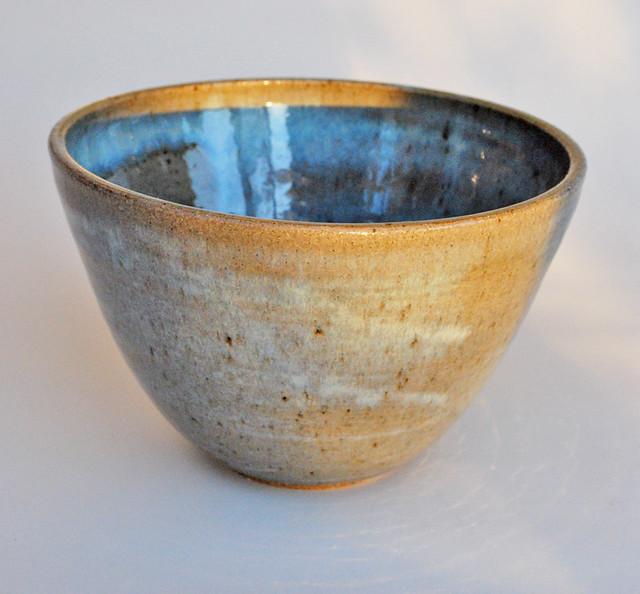 wheel thrown mugs - Art by Fuzzy