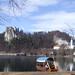 Bled Castle and Pletna boat, Slovenia