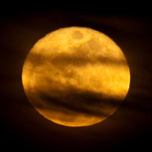 Mooning Over New Missoni: Some Shots Of The Moon Rising Over