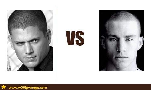 Wentworth Miller vs Ch... Channing Tatum