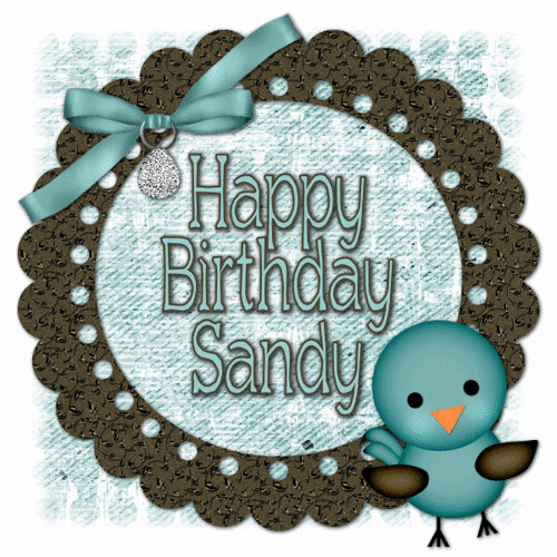 Happy Birthday Sandy Abarndweller Flickr