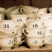 number the tea cups