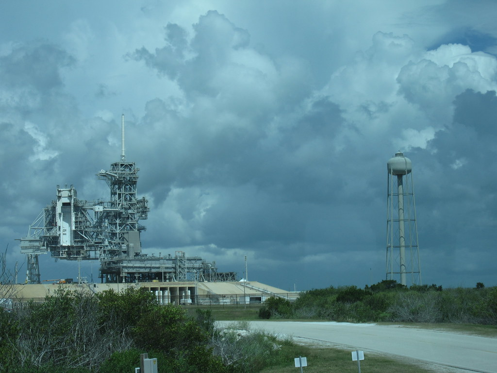 Launch Pad 39A | Launch Pad 39A at Kennedy Space Center in ...