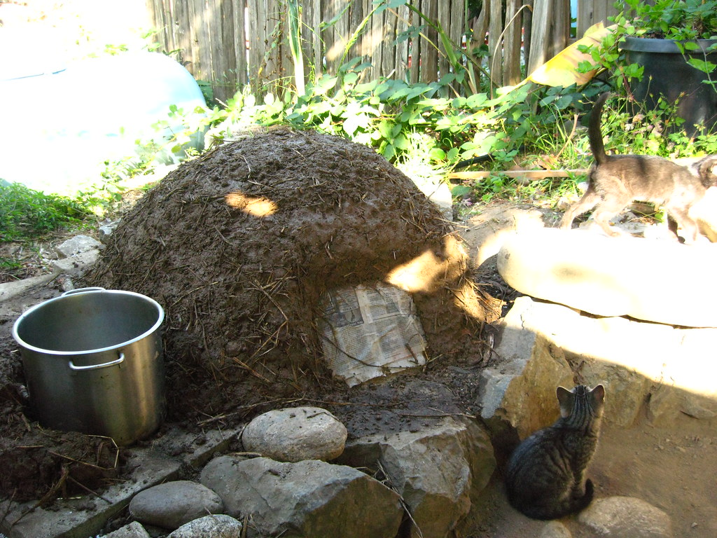 Cob Oven Stove In Progress Big Sur Spirit Garden Flickr