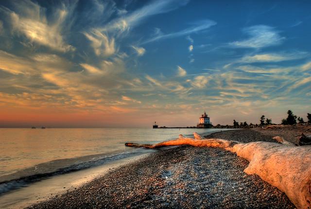 Mentor Headlands Mentor Headlands Beach Lighthouse And