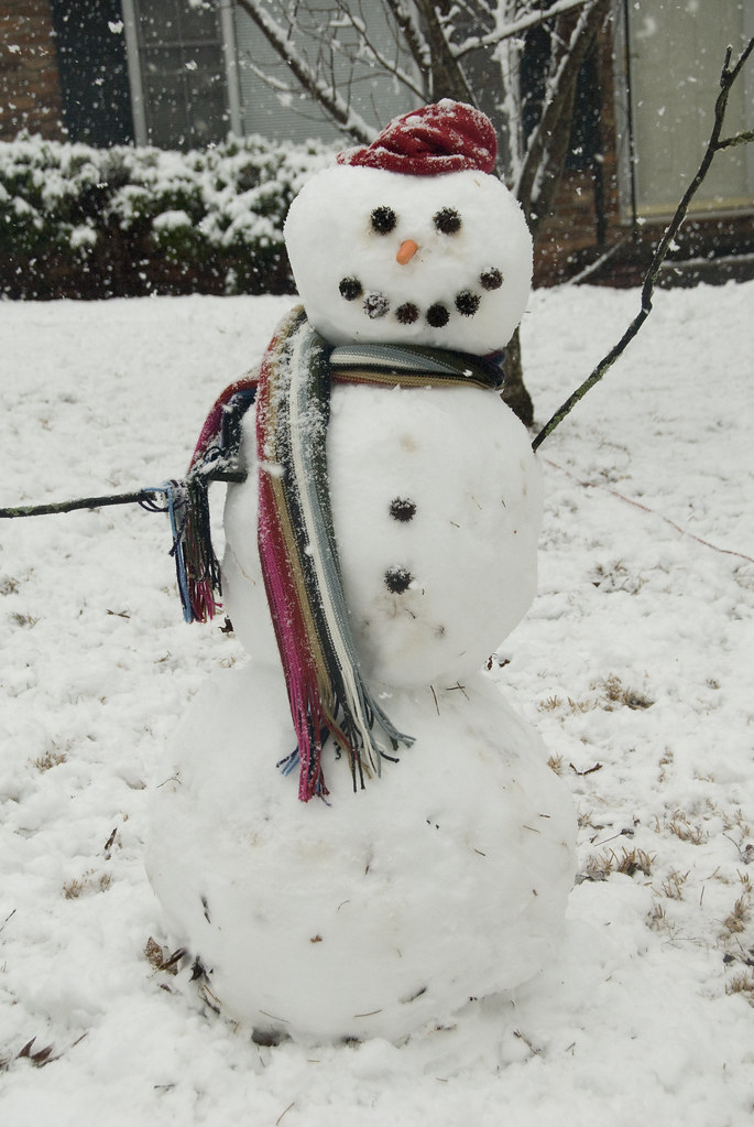 My First Real Snowman