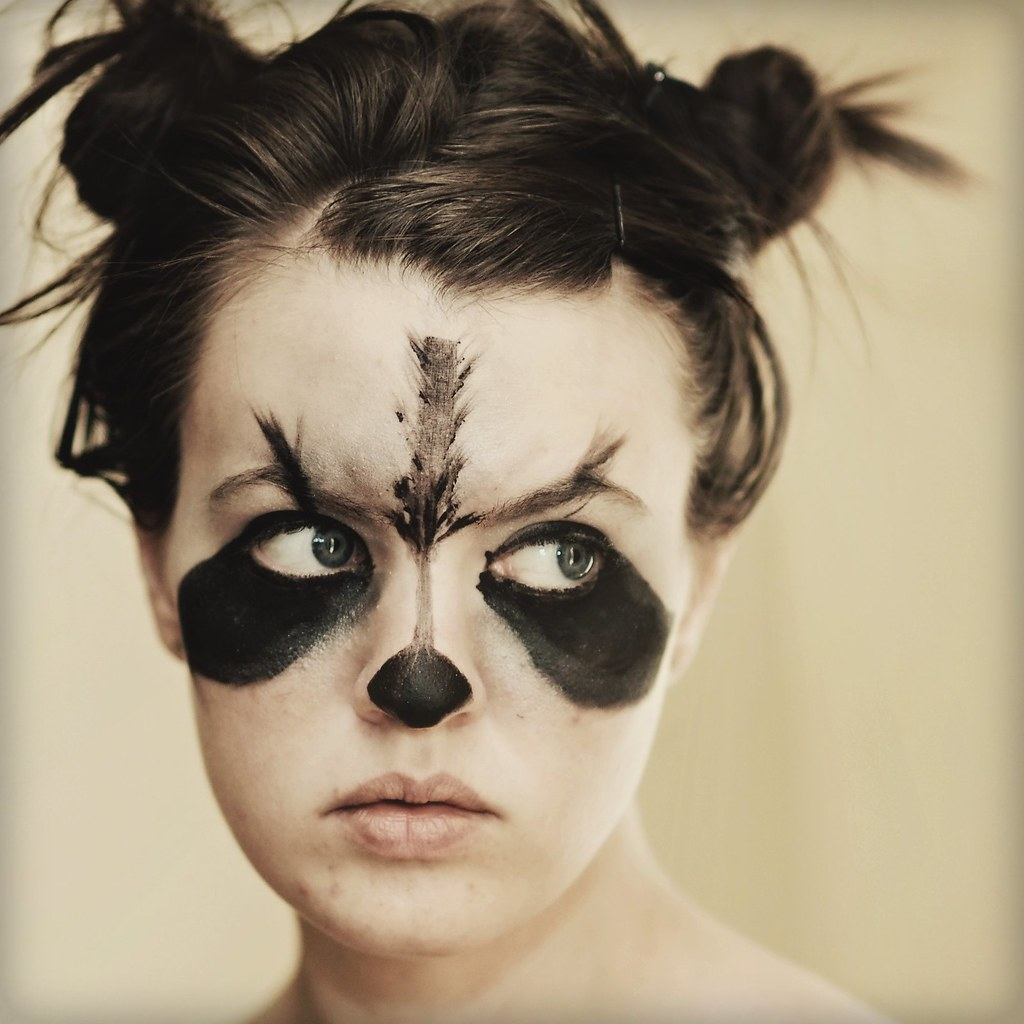 rocky raccoon (69/365) | (***UPDATE: Explored!*** wow ... Raccoon Eyes Makeup Crying