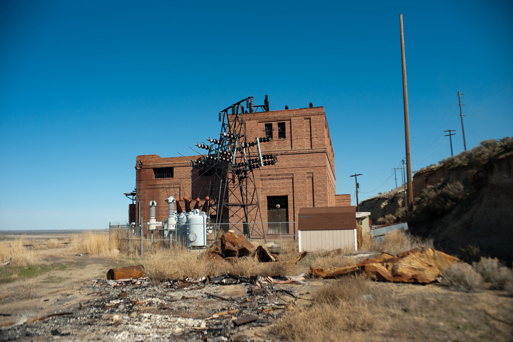 Milwaukee Road Electric Substation