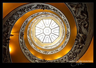 Vatican Spiral Up | by Sean Molin Photography