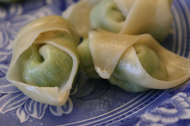 Plump Pea Dumplings   This recipe from 101cookbooks makes ...