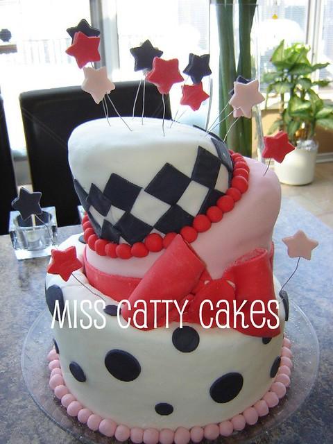 Sharons Th Birthday Cake Topsy Turvy Cake For Sharons  Flickr - 35th birthday cake ideas