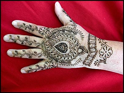 henna hand pattern tattoo inspired by india traditional ta flickr. Black Bedroom Furniture Sets. Home Design Ideas