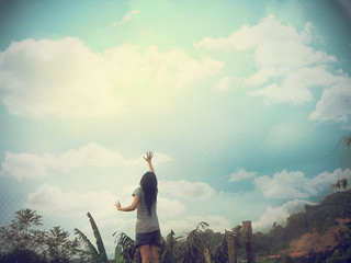 touch the sky | by kahyinG ♥