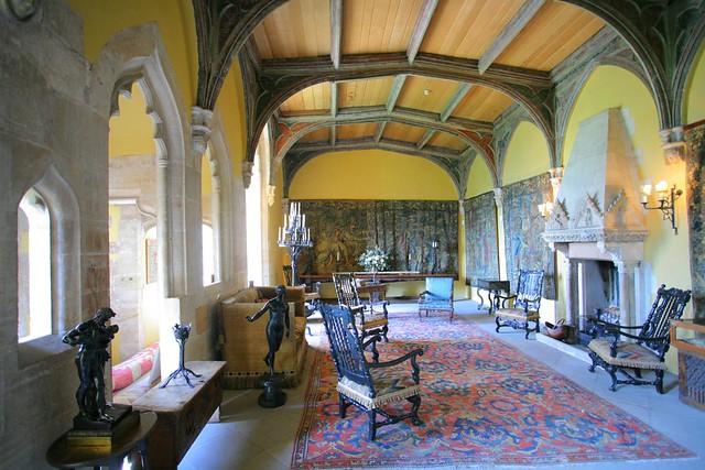Interior Of Berkeley Castle Berkeley Castle Flickr