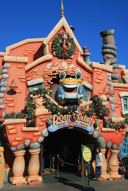 Disneyland Toontown Roger Rabbit 39 S Car Toon Spin Flickr