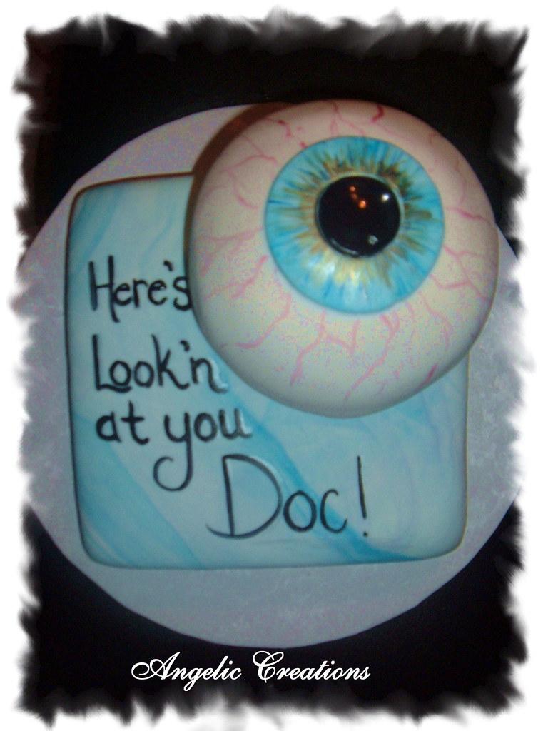 Optometrist Cake For A Retiring Optometrist Angela