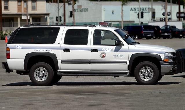 Los angeles port police chevy suburban circa 2003 flickr for La port police