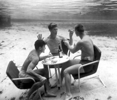 Dick Woolery, Bud Boyett and Rudy Halabuck playing poker | by State Library and Archives of Florida