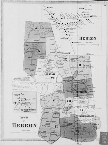 Town of Hebron.  (Petersen Collection) | by uconnlibrariesmagic