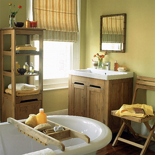 earthy natural bathroom wood accents farrow ball 39 s 39 flickr