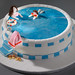 Learning to swim cake