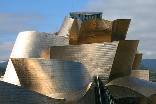 Famous architecture, Guggenheim museum in Bilbao | by Raphael Bick