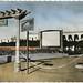Cinéma de plein air, Base Aèrienne de Blida, Algeria, Fifties