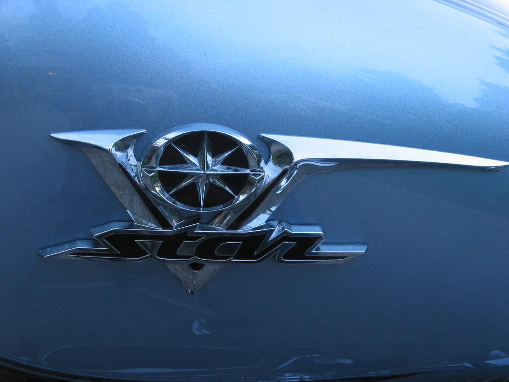 Yamaha V Star Badge