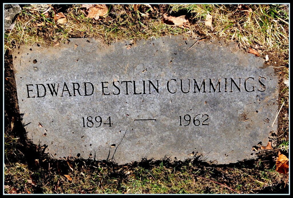 a biography of edward estlin cummings E e cummings even a pencil has fear to even a pencil has fear to do the posed body luckily made a pen is dreadfully afraid of her of this of the smile's two.