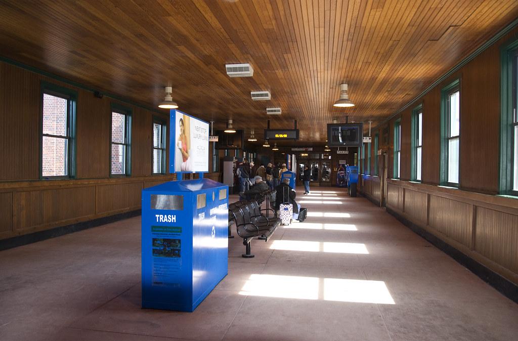 Exterior: Poughkeepsie Train Station Waiting For The Train