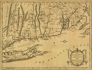 A new and accurate map of Connecticut and Rhode Island from the best authorities. | by uconnlibrariesmagic