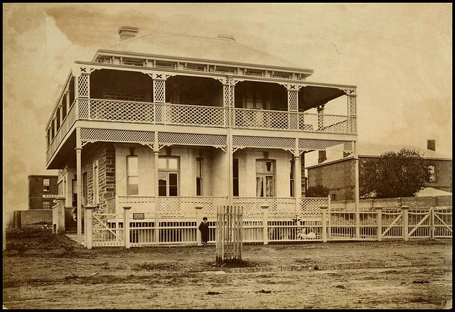 Residence north terrace adelaide 1880 slsa b 2495 the for 1 south terrace adelaide