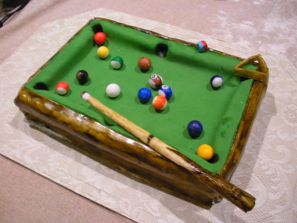 Pool Table Cake Pan