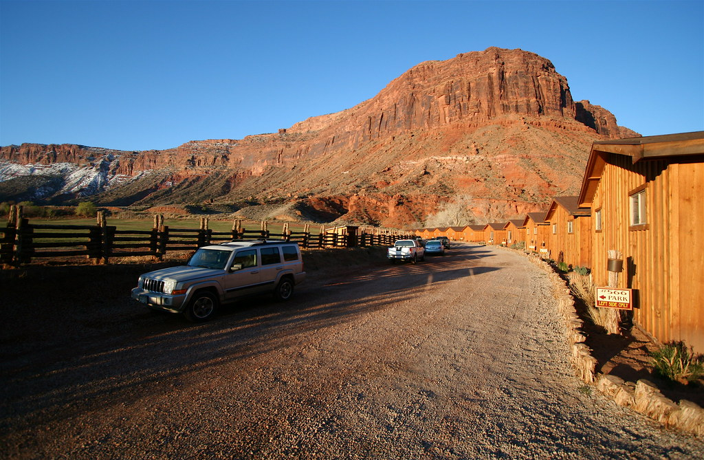 Red cliffs lodge cabins near moab ut we stayed in 566 for Moab utah cabins