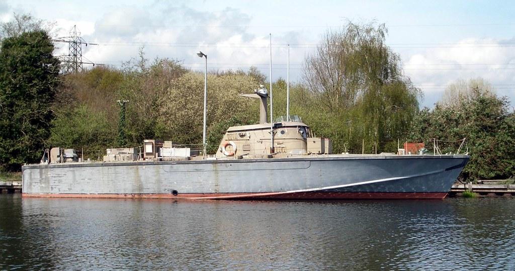 Patrol Boat  Exeter Ship Canal  Devon