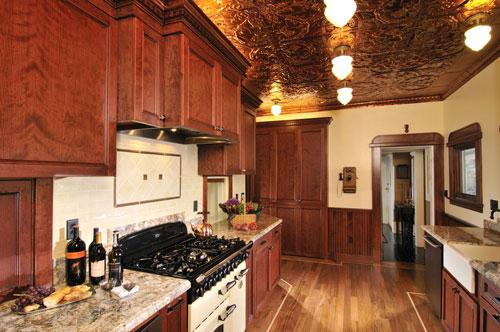 Ceiling Panel Antique Rustic Copper Using P 9 For