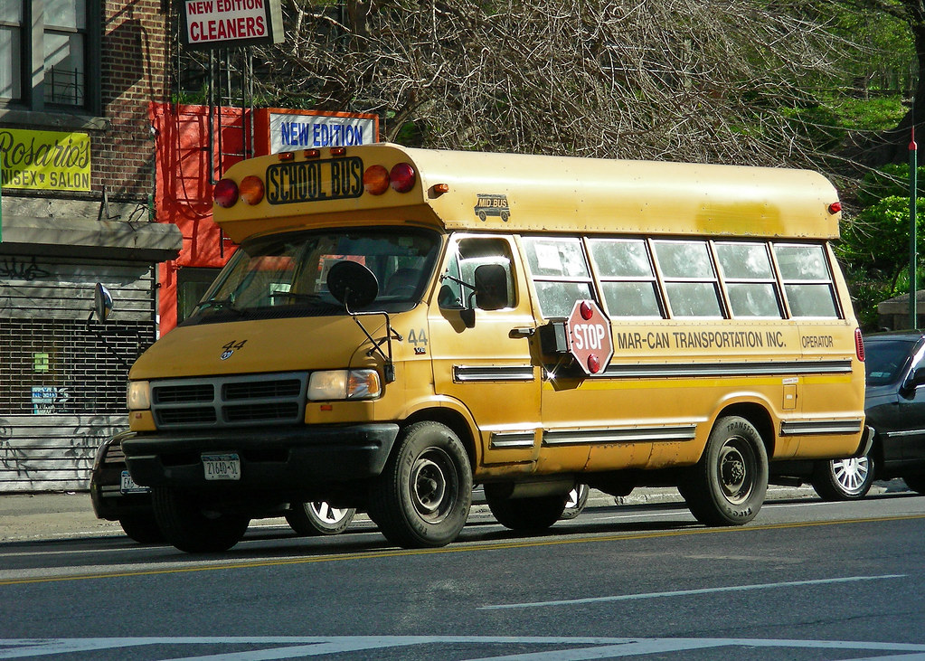 Dodge Power Wagon For Sale >> Dodge School Bus | Ram Van school bus in Inwood, Manhattan ...
