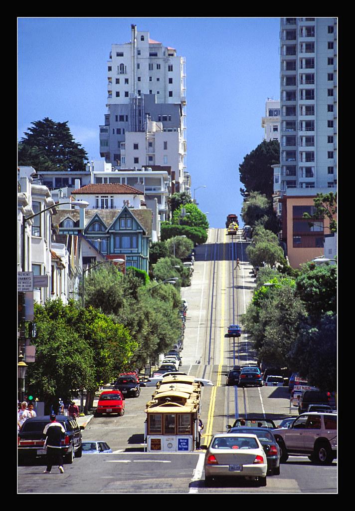 Pro Street Cars >> Looking up Hyde Street in San Francisco - 1998 | San Francis… | Flickr