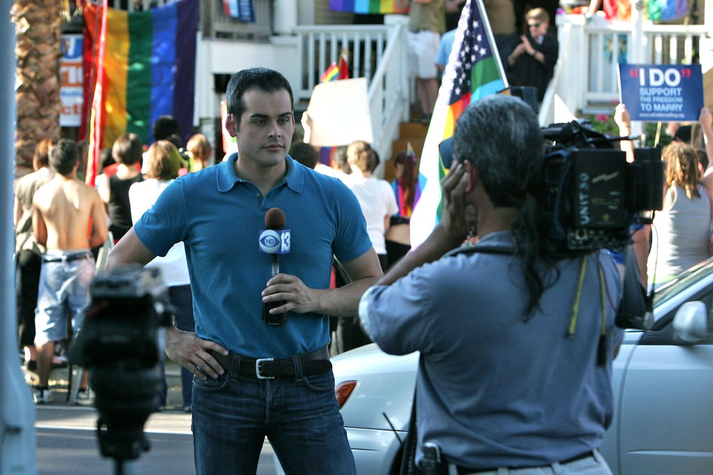 KOVR 13 Reporter David Begnaud | Kelly Huston | Flickr