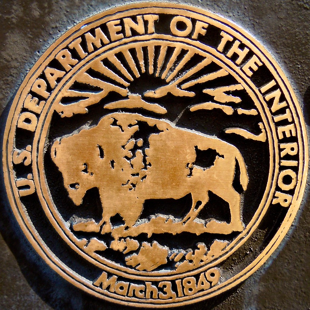 Us department of the interior march 3 1849 timothy valentine flickr for Department of interior jobs washington dc