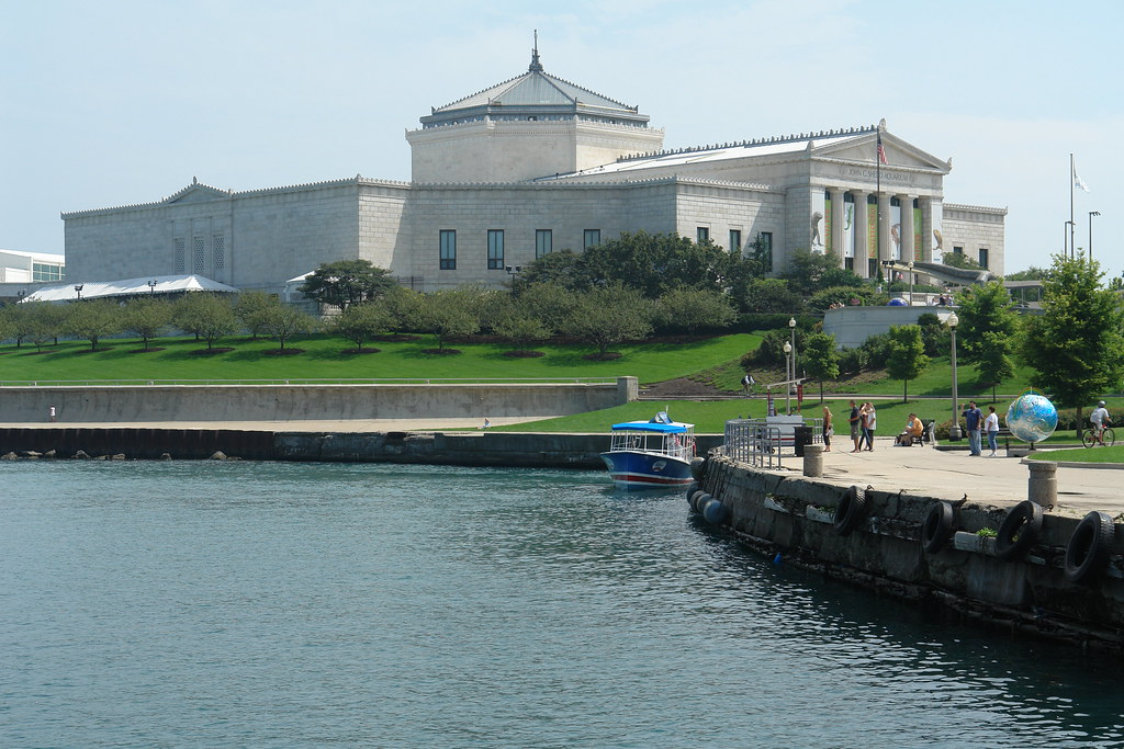 The Shedd Aquarium Chicago Illinois Usa Md111 Flickr