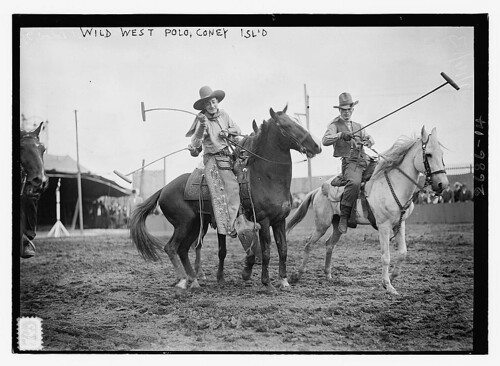 Wild West Polo, Coney Isl.  (LOC) | by The Library of Congress