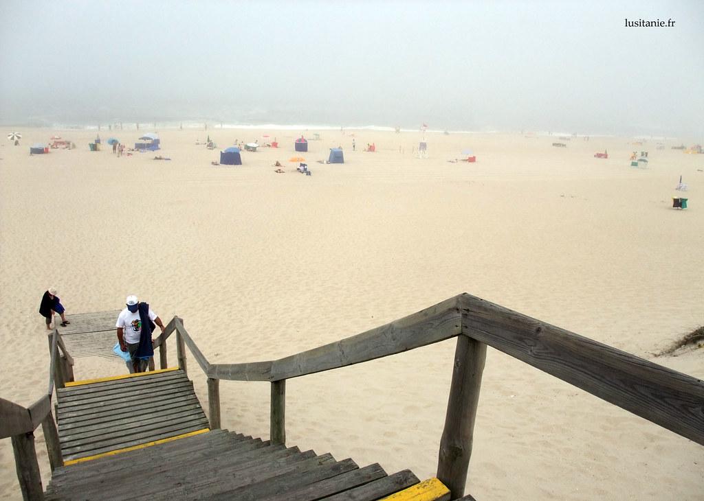 La plage est dune propreté éclatante