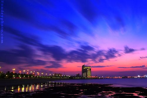 Baby Colors Sunset Kuwait Landscape Waterscape