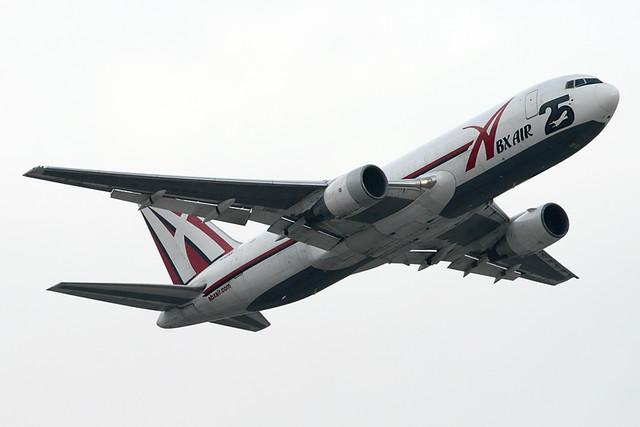ABX Air Boeing 767-281F N792AX | Leaving Phoenix for the dai