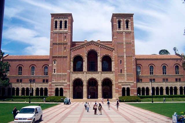 UCLA Campus Tour   Royce Hall is a building on the campus ...