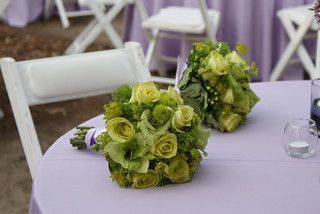 Green Bridesmaids Bouquets | by nancycno